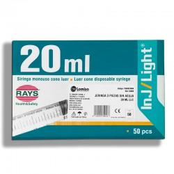 JERINGA 20ML LLC (50UDS)