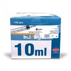 JERINGA 3P AGUJA 10ML (100UDS)