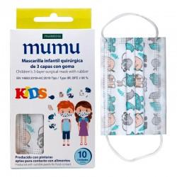 MASC. INFANTIL COLORES (10UDS)